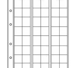 NUMIS Coin Sheets - 48 pockets