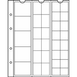 NUMIS Coin Sheets - 33 Pocket