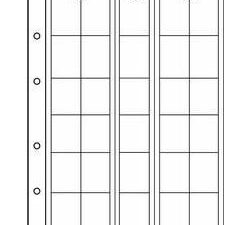 NUMIS Coin Sheets - 30 Pocket