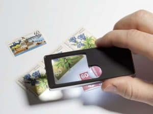 2.5x-10x Multi-Function Pocket Magnifier 5-in-1