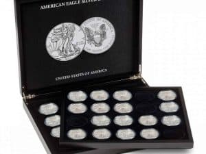 Presentation Case - Holds 20 American Silver Eagle