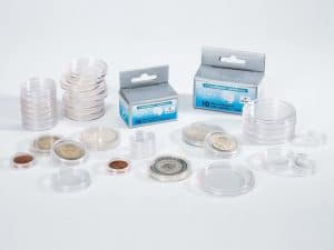 Round Capsules - Silver Dollars 1935-1967 - 36mm