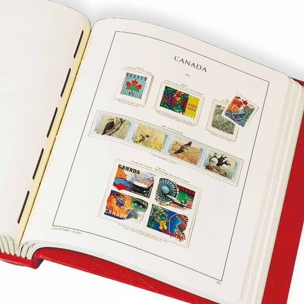 Canada Hingeless Pages only 1972-1987 by  Lighthouse