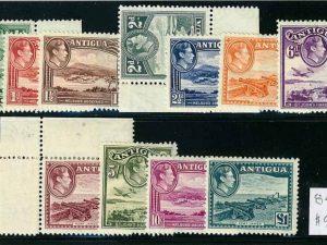 Antigua 84-95 Mint H