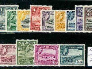 Antigua 107-21 Mint H