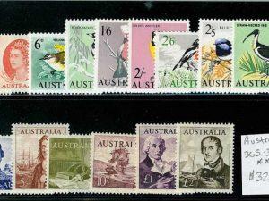 Australia 365-79 Mint NH