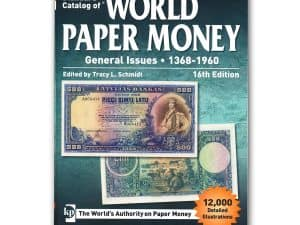 Worldwide Paper Money General Issues 1368-1960 16th Edition
