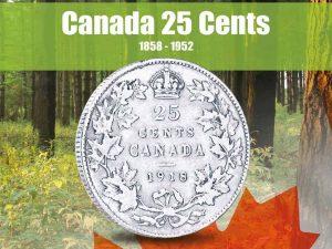 Vista Nature Canada 25 Cents 1858-1952 Volume 1
