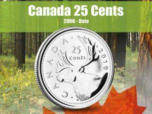 Vista Nature Canada 25 Cents 2000-2016 Volume 3