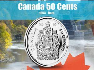 Vista Nature Canada 50 Cents 1953-2016 Volume 2
