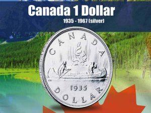 Vista Nature Canada $1 Dollar 1935-1967 Volume 1