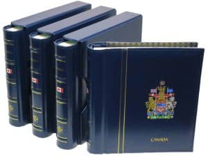 Canada Complete Lighthouse Album Special I-IV 1851-2018 Blue Binders
