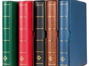 Lighthouse Vario F Red Ring Binder with slipcase