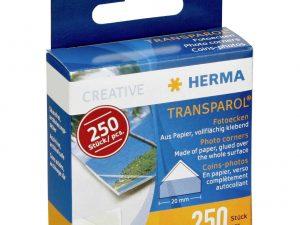 Herma Transparol Corners - Box of 250