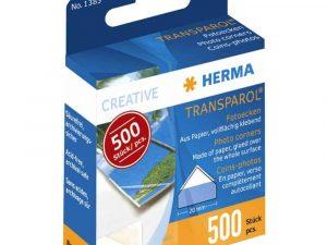 Herma Transparol Corners - Box of 500
