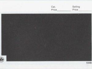 102B Black Dealer Window Cards - Pk.100