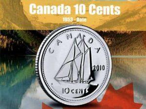 Vista Nature Canada 10 Cent 1953-2016 Volume 2