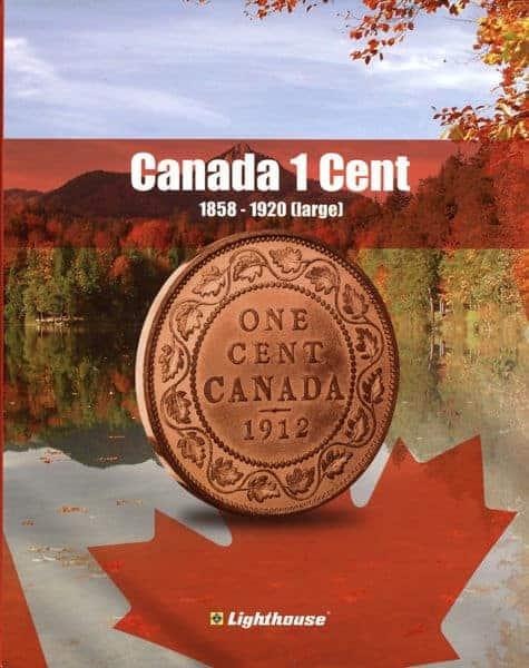 Vista Nature Canada 1 Cent 1858-1920 Volume 1