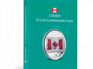 Kaskade 25 Cent Commemoratives Canada Coin Album