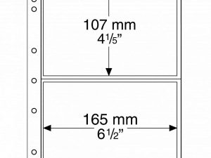 NUMIS Coin sheets - 2 Pocket