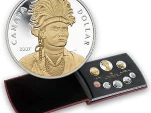 2007 Proof Double Dollare Set
