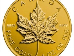 Canada Gold 1 oz Maple Leaf .9999 - Call for Pricing