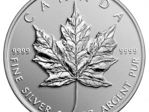 Canada Silver Maple Leaf 1 oz .9999 - Call for Pricing