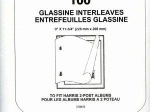 Glassine Interleaves for 2-Post Albums