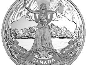 "2017 Proof Silver Dollar ""150th Anniv. of Cofederation"""
