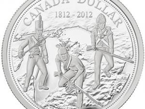 "2012 Proof Silver Dollar ""War of 1812 200th Anniversary"""