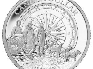 "2013 Proof Silver Dollar ""Arctic Expedition Centennial"""