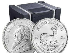 South Africa Silver Krugerand 1 oz .999 - Call for Pricing