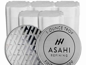 Asahi Silver Round 1 oz .999 - Call for Pricing