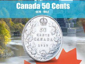 Vista Nature Canada 50 Cents 1870-1952 Volume 1